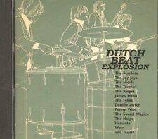 DUTCH BEAT EXPLOSION - 60s POP ROCK 28-track DUTCH BANDS SINGLES COMPILATION CD