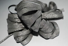 *** SPARKLING PEWTER - XMAS -  Ribbon - 7mm Wide ***