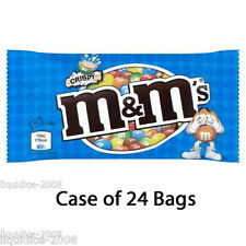 M&M's® CRISPY CHOCOLATE TREAT BAG MIX CASE OF 24 36g SWEETS WHOLESALE DISCOUNT