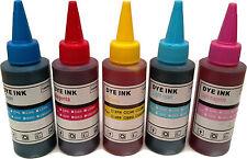 Printer Refill Ink Bottles for CISS Cyan Magenta Yellow Light Cyan Light Magenta