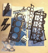 FOR ASTRA H 1.7 CDTi CYLINDER HEAD GASKET SET STEM SEALS BOLTS SET KIT Z17DTH