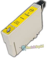 Yellow T0714 Cheetah Ink Cartridge (non-oem) fits Epson Stylus SX510W SX515W