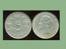 LUXEMBOURG  5  francs 1949