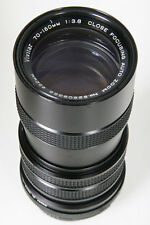 Vivitar 70-150mm f3.8 Close Focusing M42 Pentax screw Mount lens
