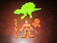 Fisher Price Imaginext NEW Dino Fortress Replacement parts Man Figure Dinosaur