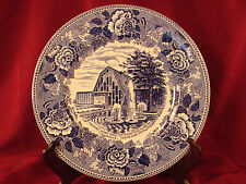 """STAFFORDSHIRE Coutry Music Hall of Fame Museum Souvenir Plate 9 7/8"""" Fine China"""