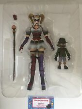 Square Enix Playarts Kai BATMAN Arkham Asylum HARLEY QUINN No. 4 Action Figure!