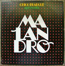 Chico Buarque Apresenta Malandro Musicas Para O Film Opera Do Malandro 1985 MT-