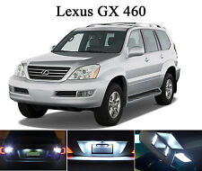 White LED Package - License Plate + Vanity + Reverse for Lexus GX 470 (8 Pcs)