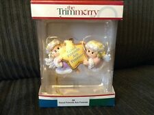 2003 The Trimmerry GOOD FRIENDS ARE FOREVER Christmas Tree Ornament ANGELS