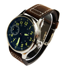 Stunning AVIATOR's 44mm PILOT's Hand Wind 6497 Swan Neck Army Military Watch