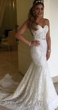 Woman Fashion Backless  Berta Like Bridal Gown, Delivery In About 15 Days.