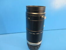 Tamron 23FM50SP 50mm 1:2.8 Machine Vision Lens w/ BP660-30.5 Red Bandpass Filter