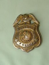 Vintage Michigan State Police Captain Badge Obsolete Style