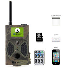 SUNLUXY HC-300M Wildkamera Hunt 12MP HD/GSM/MMS/GPRS/SMS Scouting Infrared Trail