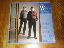 WHITSTEIN BROTHERS / TROUBLE AIN'T NOTHIN' BUT THE BLUES ~ Rounder Album~ SEALED