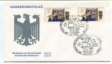 1977 Sonderumschlag Wertzeichen Deutschen Bundespost Kieli 100 Jahre Deutschland
