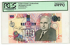 Northern Ireland … P-201a … 100 Pounds … 1999 … Super Gem*UNC*