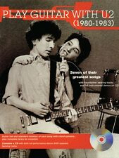 Play Guitar with U2 1980-1983 - Guitar Jams Series NEW 000695880