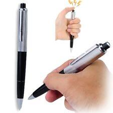 Shocking Electric Shock Metal Pen Trick Joke Gag Funny Toy Gift trik funy shok