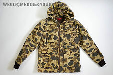 SUPREME Insulated Work jacket CAMO FW 2010 Rare size Small S