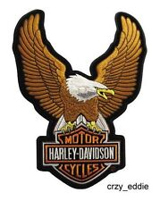 HARLEY DAVIDSON UPWING EAGLE BAR SHIELD VEST PATCH ** SMALL ** BIKER MOTORCYCLE
