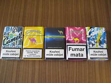Camel   Zigaretten 5 packs all empty / top condition / CAMEL collectables 11