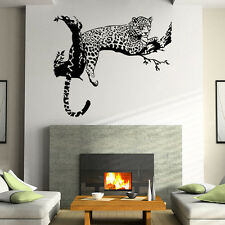 Large Leopard Tiger Art Room Home Removable Decor Wall Decal Sticker Mural AS