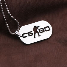 NewCS GO Cross Fire Model Logo  Necklace pendant Chain Gift Fans Collection