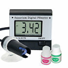 Digital pH Meter Tester Monitor Hydroponics Aquarium Pool Spa Pond 0.0~14 pH ATC