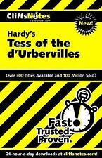 Tess of the d'Urbervilles, by Hardy, Cliffs Notes (1966, Paperback) Ships FREE!