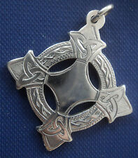 Irish Silver Limerick Gaelic Football Celtic Fob Medal - Dublin 1971 Clochan