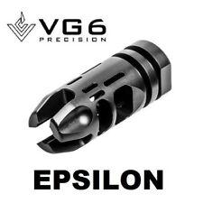 VG6 Precision Epsilon 556 Compensator Muzzle Brake Black Nitride w/ Crush Washer