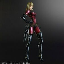 Space Pirate Captain Harlock: Kei Yuki Play Arts Kai Action Figure Square Enix