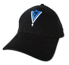 J. Devil Arrow Logo Flex Cap Black Baseball Hat Cap L-XL Korn Jonathan Davis