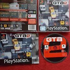 GTA2 GRAND THEFT AUTO 2 ORIGINAL BLACK LABEL SONY PLAYSTATION PSONE PS1 PS2 PAL