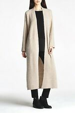 NWT Eileen Fisher The Fisher Project Mohair, Wool Straight Maxi Cardigan, Medium