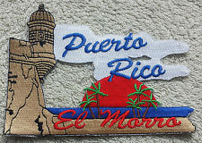 PUERTO RICO EL MORRO PATCH Cloth Badge Biker Jacket United States of America