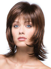 Brown Synthetic Straight Attractive Short Wig For Woman Hair Wigs + Free shippin