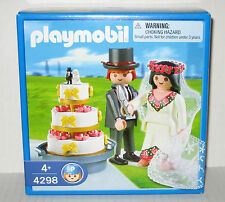 Playmobil 4298 Bride and Groom / Wedding Cake Topper -  NEW