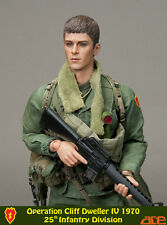 "ACE 1:6 scale 12"" Veitnam Operation Cliff Dweller IV 25th INFANTRY Soldier"