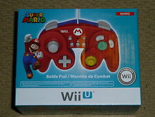 NINTENDO Wii U OFFICIAL SUPER MARIO BATTLE PAD CONTROLLER - NEW! HORI Smash Bros