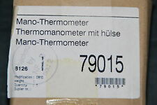 BOSCH NEFIT 79015 MANO-THERMOMETER THERMOMANOMETER MIT HÜLSE 63mm NEU