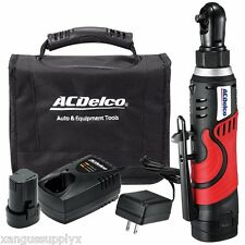 "AC Delco Cordless Battery Powered Lithium-Ion 8 Volt 1/4"" Ratchet Wrench"