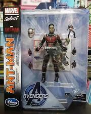 Marvel Select Unmasked Ant Man Avengers Paul Rudd Disney Exclusive Action Figure