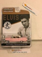 1955 Cadillac Fleetwood Series 60 PINK * Elvis Presley * Greenlight Hollywood 14