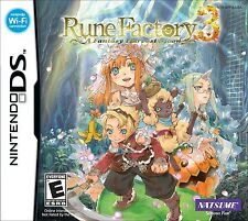 Rune Factory 3: A Fantasy Harvest Moon [Nintendo DS DSi, Natsume, RPG] NEW