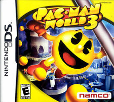 Nintendo DS Pac-Man World 3 Game BRAND NEW SEALED