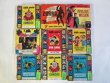 SUPER 8MM Movie Lot Of 9 Reels,B&W,Silent,Buster Keaton,Zorro,Three Stooges