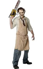 Leatherface Texas Chainsaw Massacre Costume Halloween Fancy Dress Costume P8643